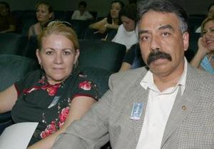 María Cabello García y Paulino González Peña.