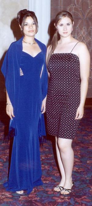 Ana Gabriela Hernández y Guadalupe Elizabeth Álvarez Díaz.