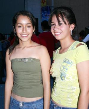 Liliana Rodríguez y Fernanda Fernández