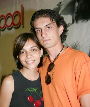 Ulises José Zertuche y Fabiola Zavala..
