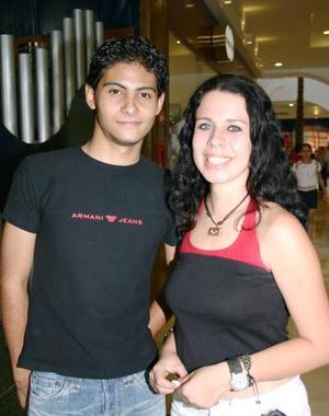 Aarón Alba y Miriam Rascol
