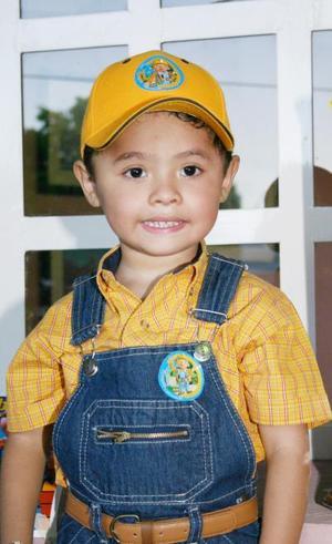 <i><u> 10 de julio </i></u><p>  Ricardo de los santos Mejía López celebró su tercer cumpleaños con un convivo infantil.