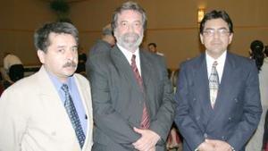 Carlos Mercado Canales, Enrique Verdeja Rubio y Luis Gerardo Zúñiga Silva.