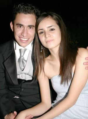 Agustín Reynosa y Alejandra Abdo.