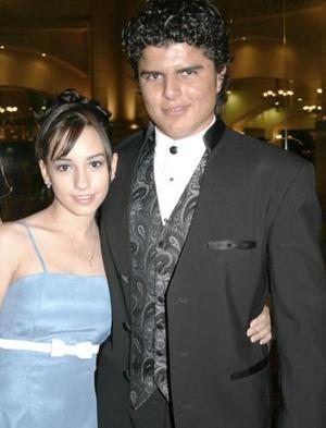 Gaby y Boss, en pasado festejo social.