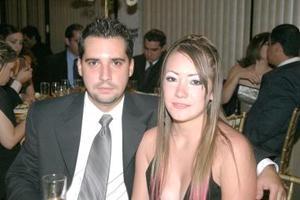 Josén Antonio Ramírez y Claudia Alonso.