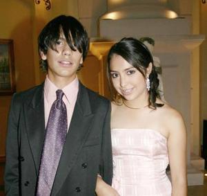 Bógar Adame y Michelle Mendoza