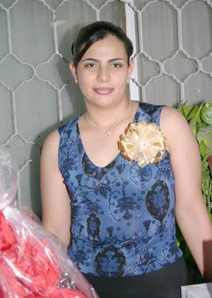 <u><i> 12 de julio </u></i><p>  Norma Patricia González Andrade disfrutó de una despedida de soltera en días pasados