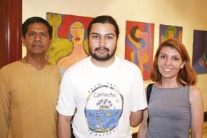 Gustavo Montes, Miguel Esponoza e Ileana Pinal
