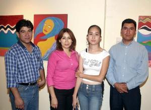 Juan Sauza, Luz Elena Michelle, Mayra Fernández y Fortino Domínguez