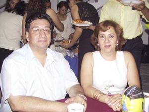 Antonio Arrañanga e Irma del Carmen Macías