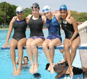 Paulina Rivera, Brenda Gutiérrez, Pamela Cervantes y Laura Fernández