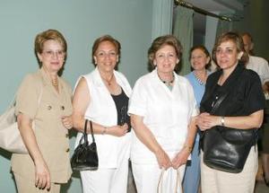 <i><u> 11 de julio</i></u><p>  Susana Niño de Rivera, Rita de Sánchez de Agüero, Pilar y Rosa Sánchez