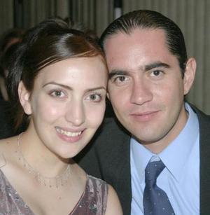 Lizeth Montfort y Alejandro Pérez.