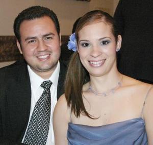 Leoncio Ortiz y Véronica Ledesma.