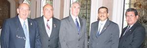 Eddy Murra, Jaime Anaya, René Nahle, Salvador González y Jorge Milán se hicieron presentes en la ceremonia.