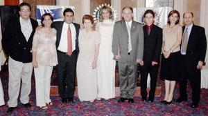 Ricardo Giacomán, Blanca Giacomán, Enrique Marcos, Rosita de Marcos, Adriana de Marcos, Ricardo Marcos, Bichara Marcos, Fernanado y Miriam.