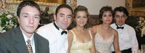 Raúl Borja Urby, Carlos A. Borja Urby, Maribel Ruiz Fernández, Nicia Herrera y Héctor Ruiz.