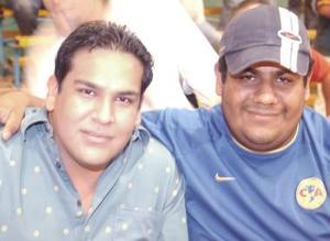Roberto Dávila y Alejandro Rodríguez.