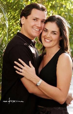 Jorge Espinosa Fematt y Cecilia Ortiz Saborit.