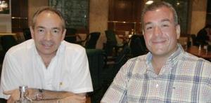 Enrique Humhprey y José Antonio Balle.