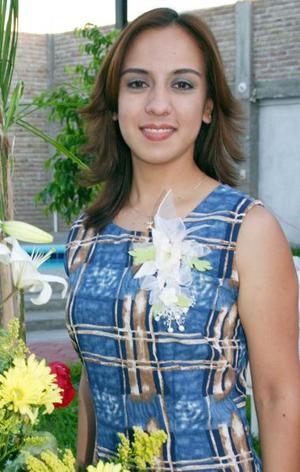 Cecilia Correa Torres contraerá matrimonio con José Maldonado Rentería el próximo 14 de agosto.