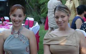Belinda de Sánchez y Alicia Gotés.