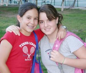 Fernanda Teele y Lorena.