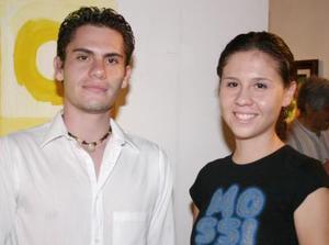 Luis Felipe Castillón y Laura Hernández.