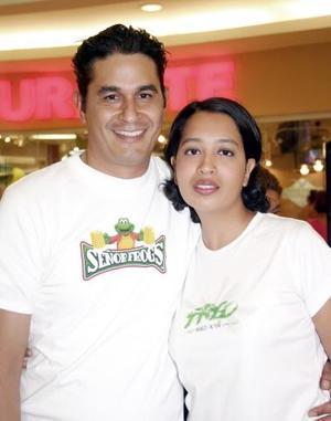 Alejandro Córdoba y Adriana García.