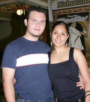 Carlos Chacón y Mary Carmen de Lara.