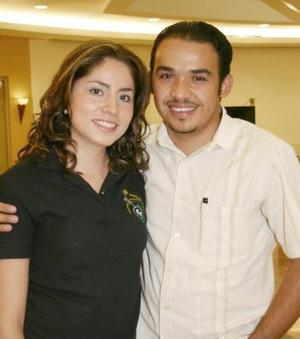 José Alfredo Quintero y Beatriz Adriana Rodríguez.