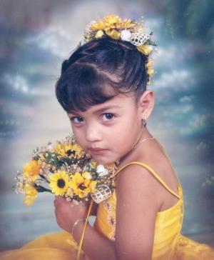 La niña Vanesa de la Rosa Acuña cumplió tres años de vida el pasado 21 de junio.