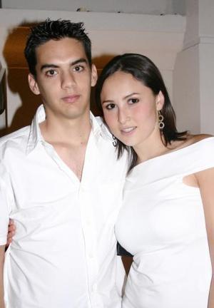 <u><i> 9 de julio </u></i><p>     Óscar González Llama y Alma Delia Martínez.