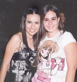 <i><u>19 de julio</i></u><p>  Rosario Chaib y Alejandra Villarreal.