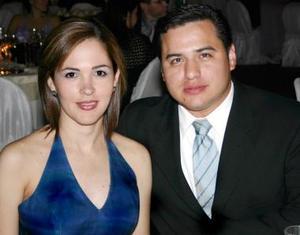 Bárbara de Vega y Víctor Vega.