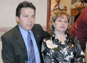 Heladio Acuña y Celia Cabral de Acuña.