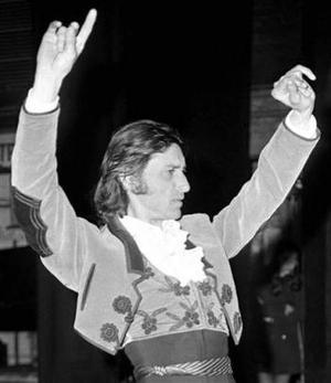 Unas 50 imágenes revelan a la sociedad española y los acontecimientos más relevantes del último siglo y medio, como el tempestuoso clima político a comienzos del siglo XX que culminó con la Guerra Civil (1936-39), la dictadura del general Francisco Franco y la transición a la democracia. Pero también se exhiben fotos de corte cultural y no podía falta esta durante una exhibición de flamenco del coreógrafo y bailarín español Antonio Gades en marzo de 1970.