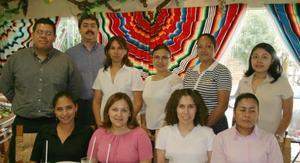 Héctor Ibarra, Miguel Ángel Ibarra, Cony Ávila, Alma Gaytán, Mireya Hernández, Vero Ramírez, Gaby Esparza, Areida Ruiz, Adriana Boone y Zoraya Gutiérrez.