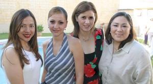 <i><u> 21 de julio</i></u><p>  Rocío Acosta, Lily Quiñones, María Cruz de Ayala y Ángeles Garza.