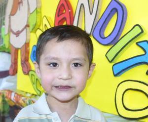 Armando Vázquez Morales celebró su cuarto cumpleaños, con un agradable convivio