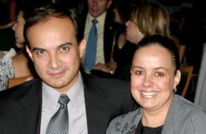 César Mario Prieto y Viviana de Prieto.