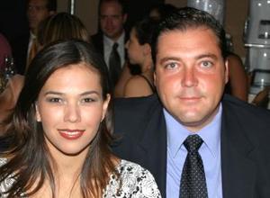 Lorena de Gutiérrez y Fernando Gutiérrez.