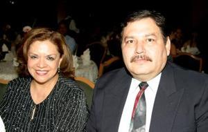 Leticia Amaro de Díaz y Raúl Díaz Velázquez.