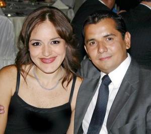 Hilda de Córdova y Jorge Córdova.