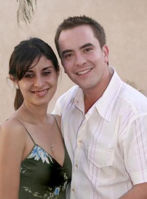Lissette Díaz de Leal y Carlos Leal.