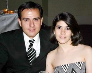 Oswaldo y Carolina Santibáñez.