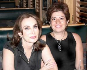 Martha Orduña y Anita Rendón.