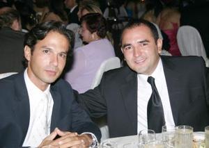 Marcelo Córdova y Francisco Ortega.