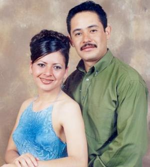 Mary Trini Bibiana Santoyo Amador y Jaime Antunez Machado.